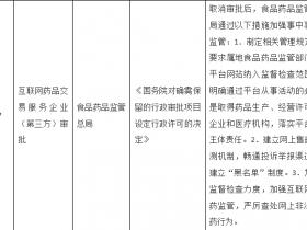 国务院:取消医药电商A证审批